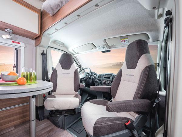 Kastenwagen Wohnmobil drehbare Sitze