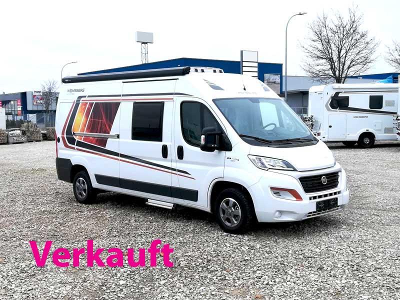 Weinsberg CaraBus mit 4 Schlafplätzen
